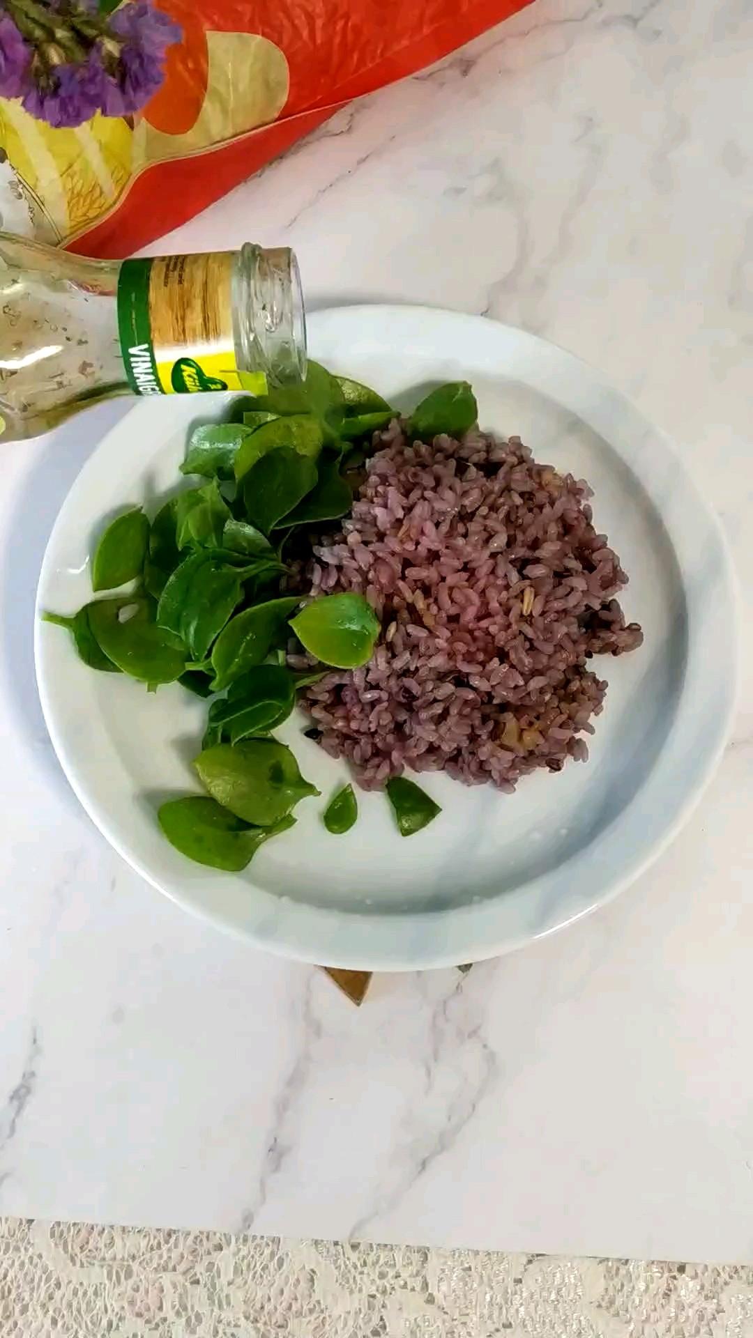 多谷米拌沙拉的简单做法