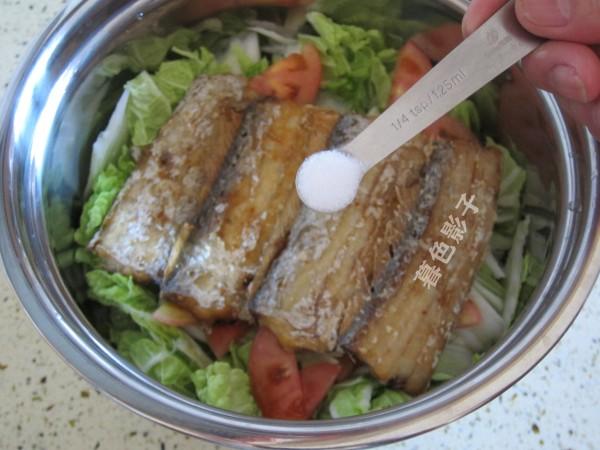 白菜焖带鱼怎么炒