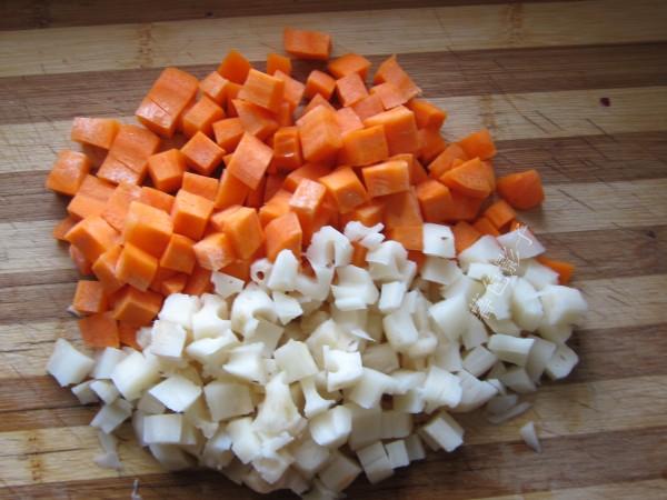炒花菜的做法图解