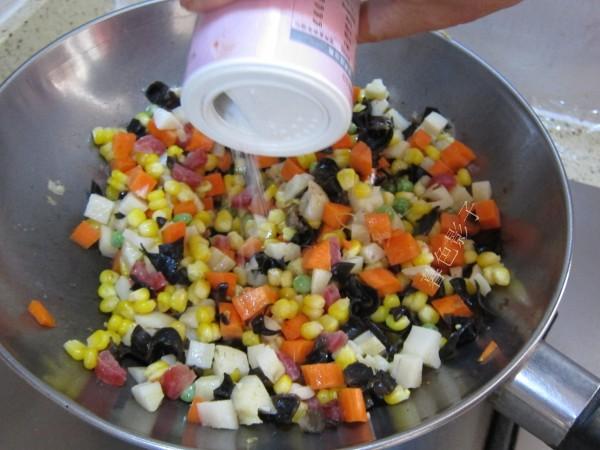 炒花菜的简单做法