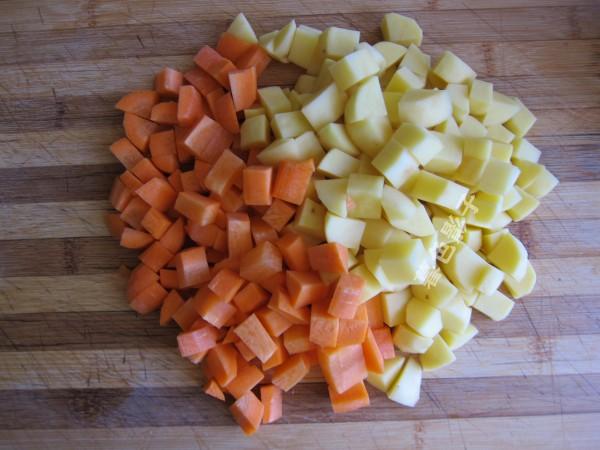 咖喱胡萝卜鸡块的做法大全