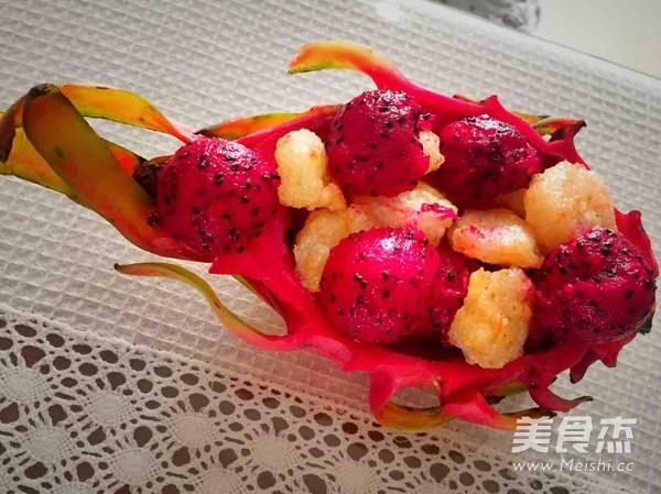 缤纷鲜果虾球怎么吃