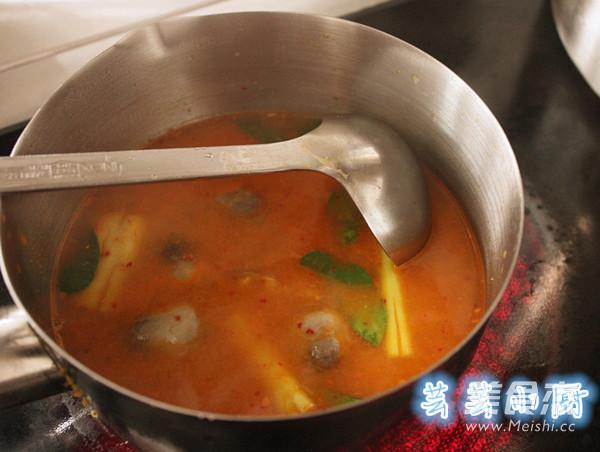 冬阴功海鲜汤的简单做法