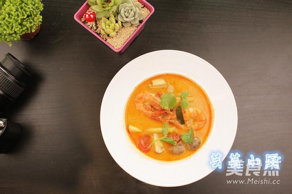 冬阴功海鲜汤怎么吃