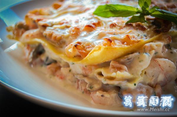 意大利海鲜千层面怎么吃