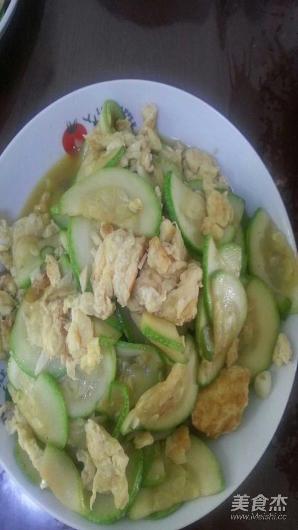 角瓜炒鸡蛋怎么煮