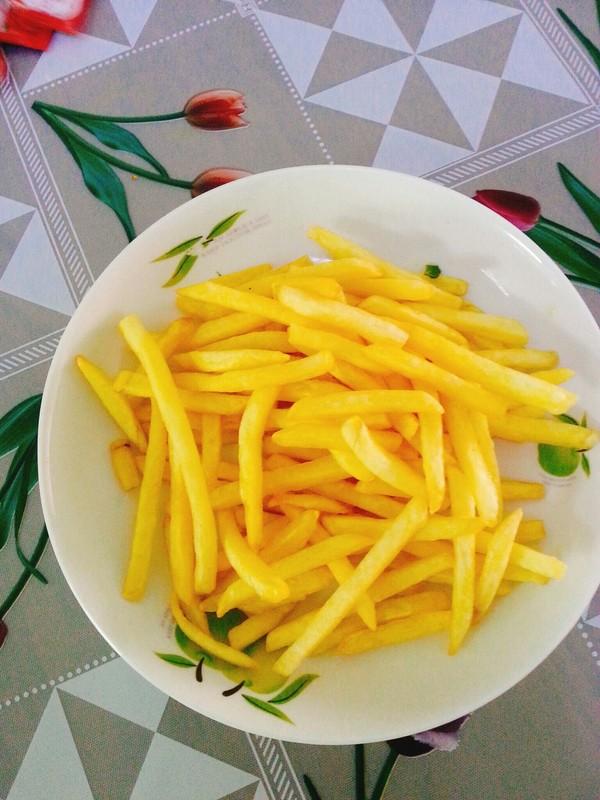 原味薯条的步骤