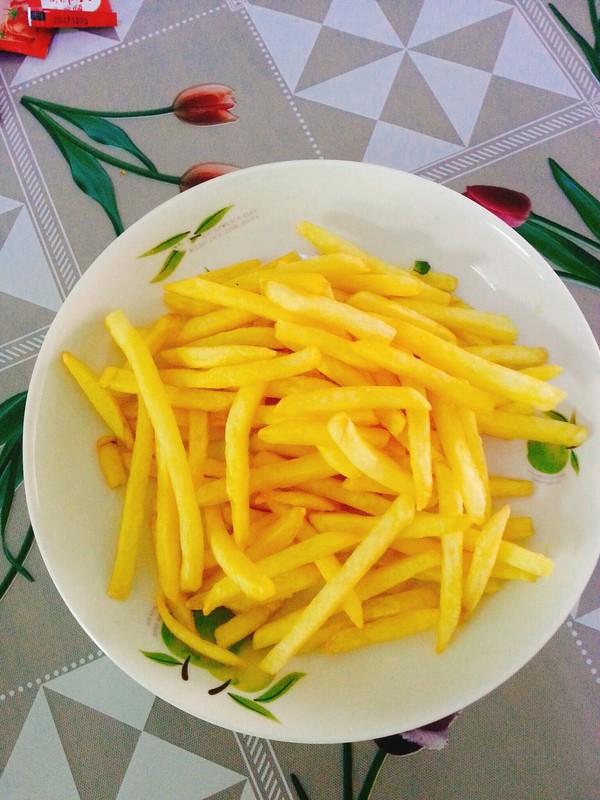 原味薯条成品图