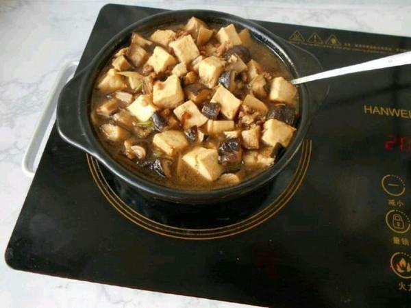 香菇肉末豆腐煲怎样做
