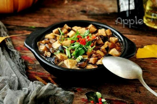 香菇肉末豆腐煲怎样炒