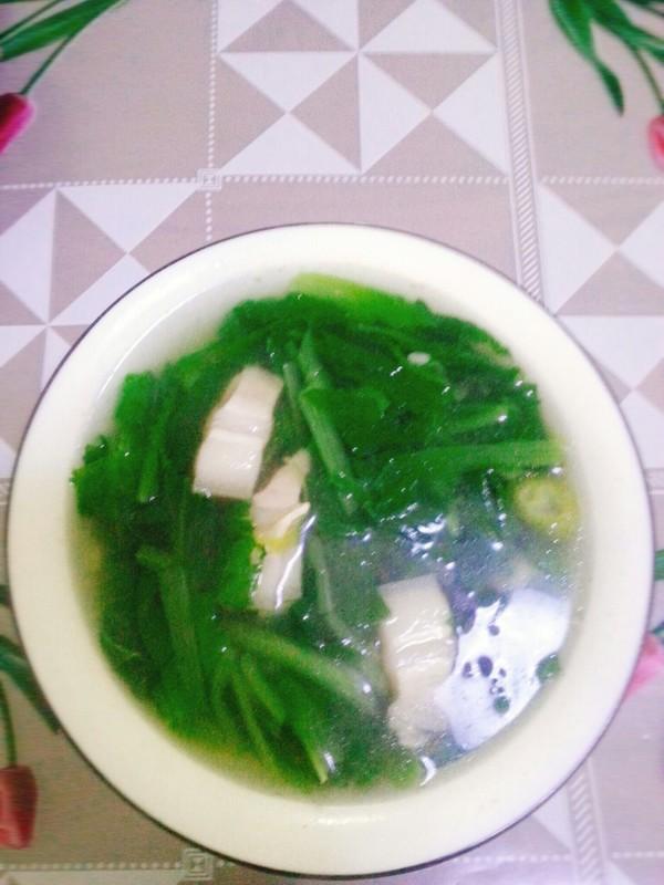 小白菜汤的简单做法