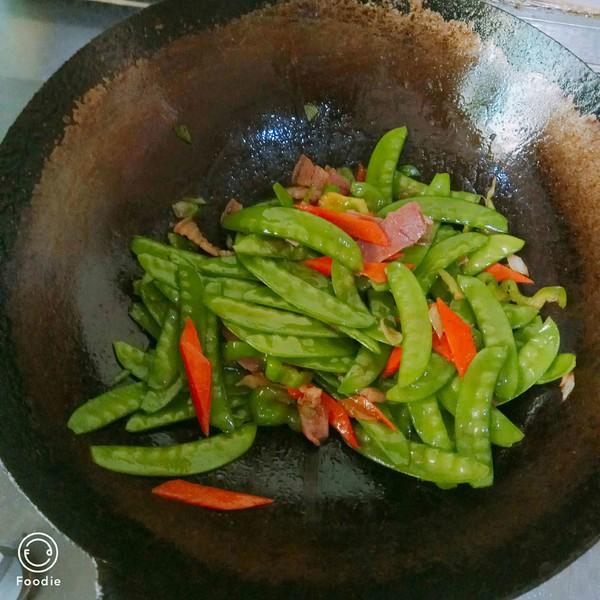 腊肉荷兰豆怎么煮