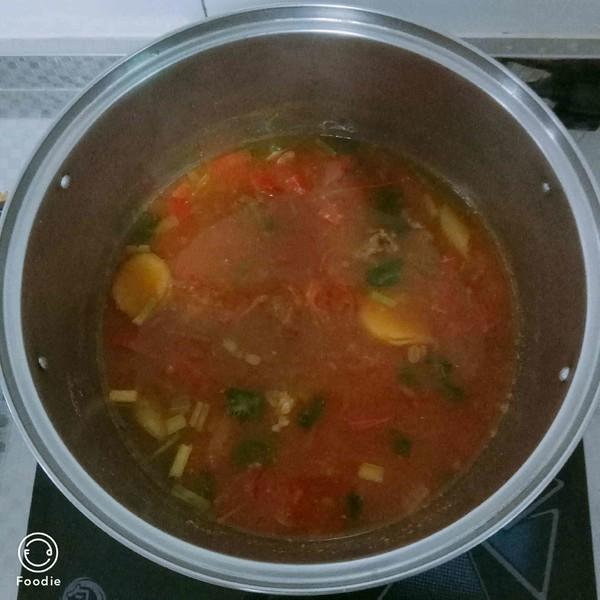 牛肉西红柿汤的简单做法
