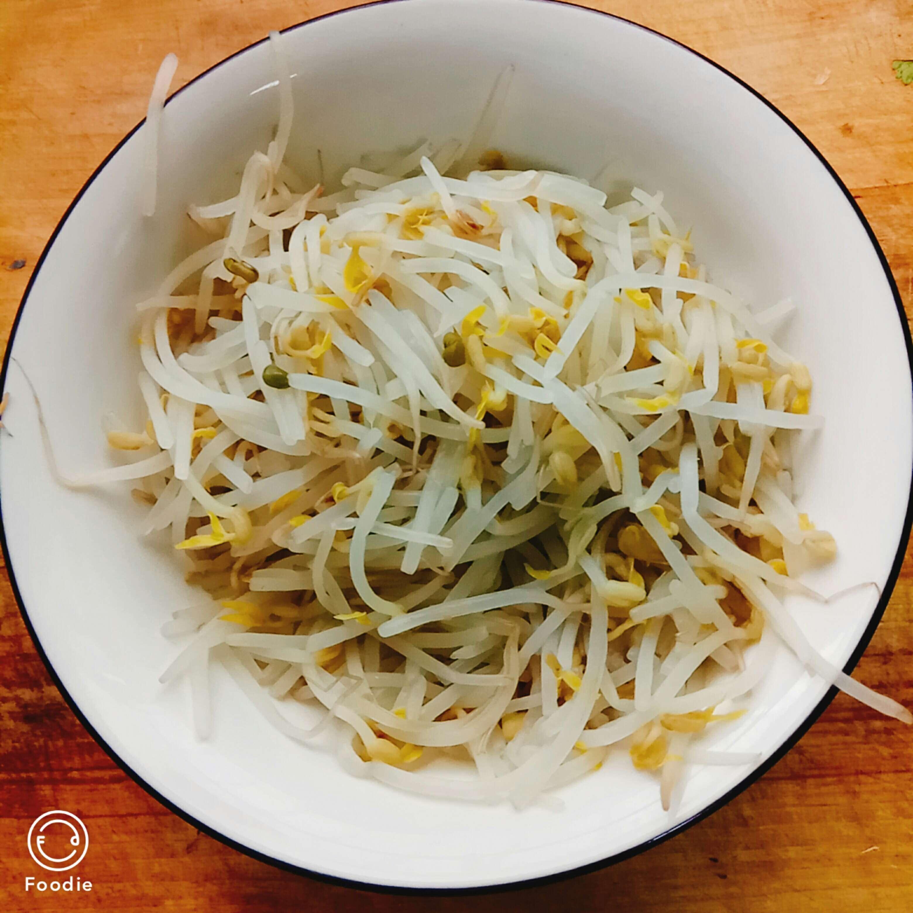 绿豆芽拌粉丝怎么吃