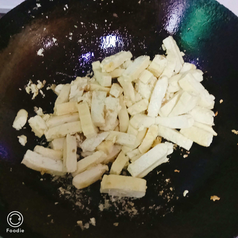 豆腐干炒白菜的简单做法