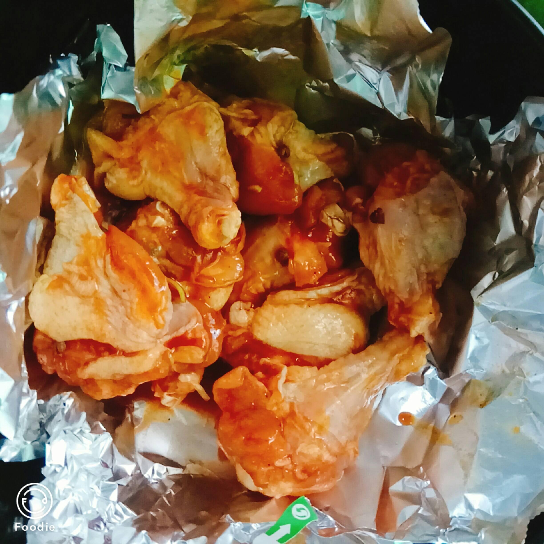 烤鸡翅根(空气炸锅版)的简单做法