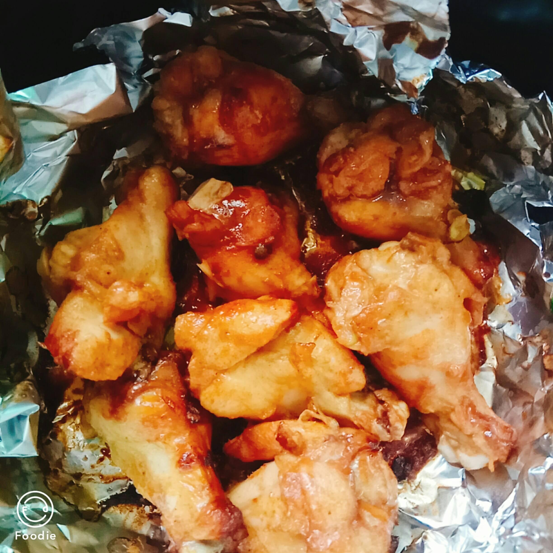 烤鸡翅根(空气炸锅版)怎么吃