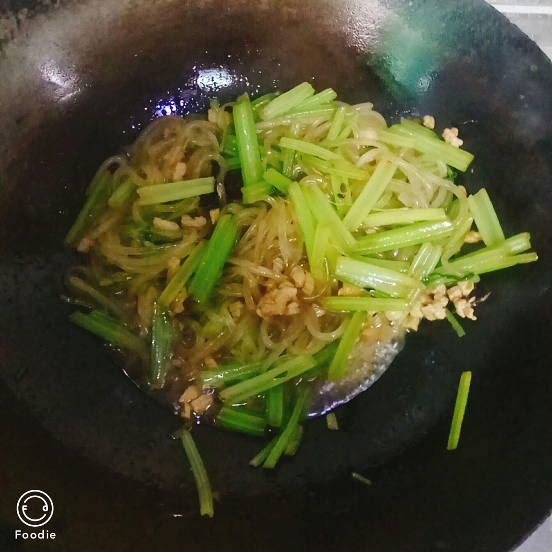 肉末芹菜怎么做