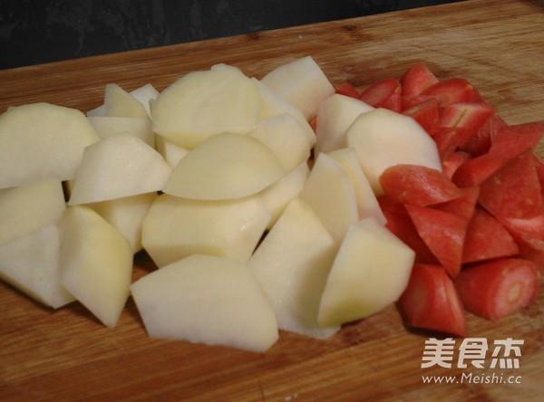 肉沬咖喱土豆的家常做法