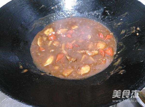 肉沬咖喱土豆怎么炒