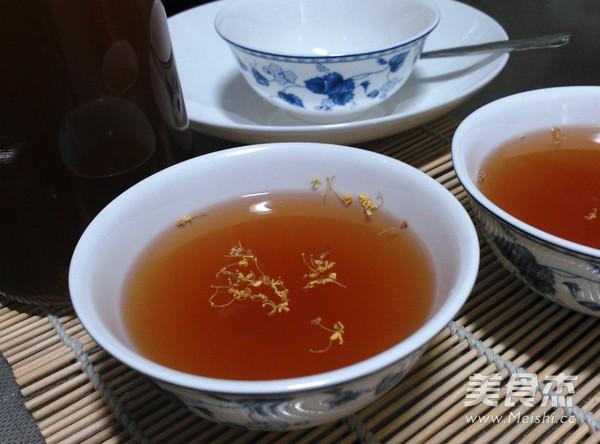 桂花酸梅汤怎么吃