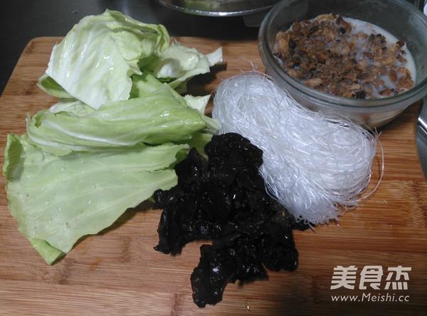 黑麦片酱肉粉丝包的做法图解