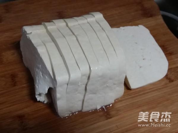 蒜苗豆腐的做法图解