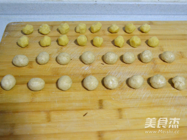 弥补中秋的遗憾-绿豆沙核桃酥饼的简单做法