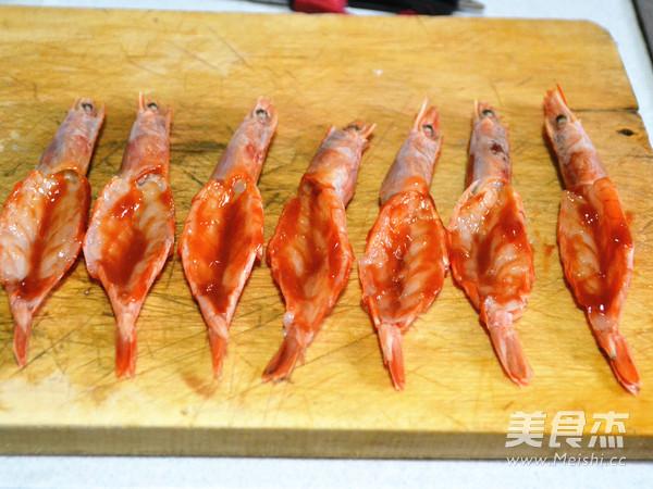 土豆泥芝士焗大虾的步骤