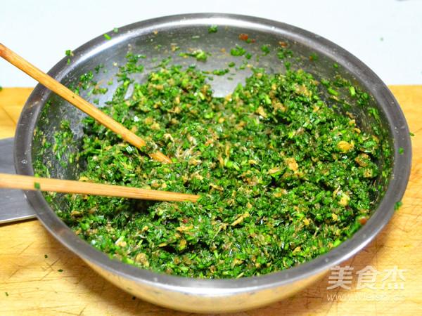鲜上加鲜的韭菜猪肉三鲜包子怎么做