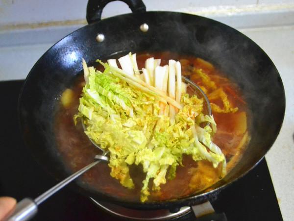 冬日里的一份酸爽滋味---酸汤羊肉怎么炒