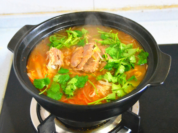 冬日里的一份酸爽滋味---酸汤羊肉怎样做