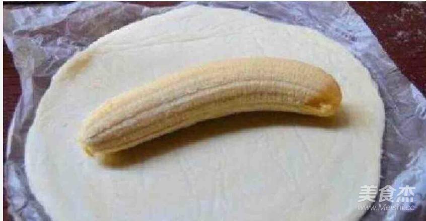 飞饼香蕉卷的做法大全