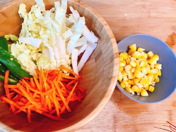 剩菜剩饭大作战:芝士石锅拌饭的做法图解