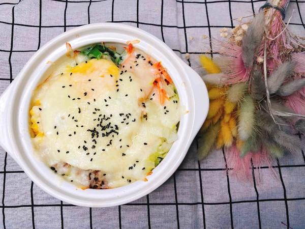 剩菜剩饭大作战:芝士石锅拌饭怎么煮