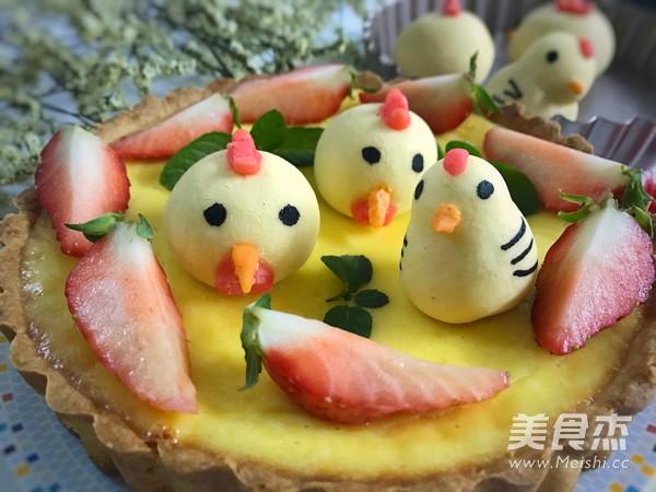 小鸡烧果子乳酪挞的制作方法