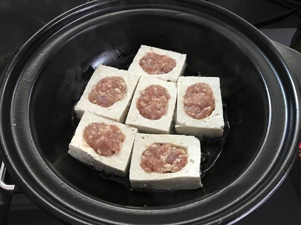 豆腐酿肉煲怎么炖