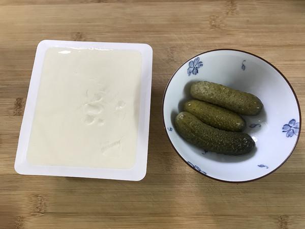 酸黄瓜拌豆腐的做法大全