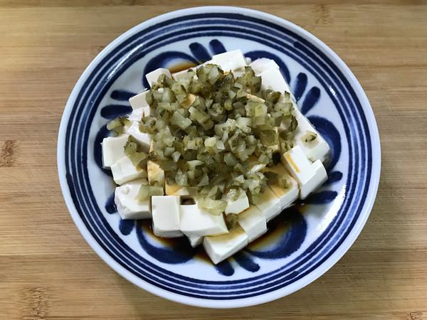 酸黄瓜拌豆腐怎么做