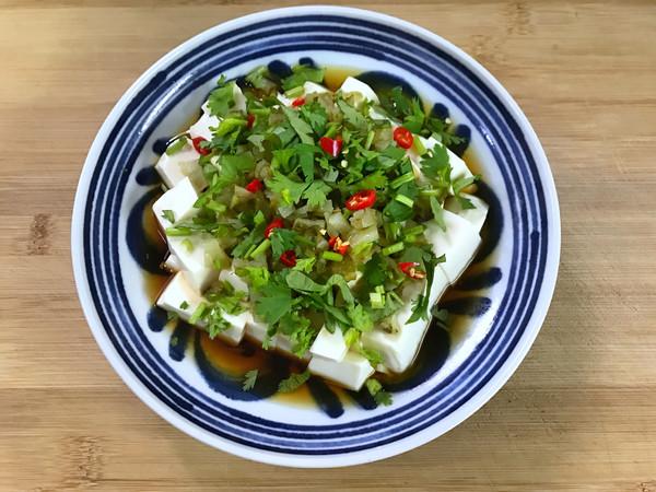 酸黄瓜拌豆腐怎么炒