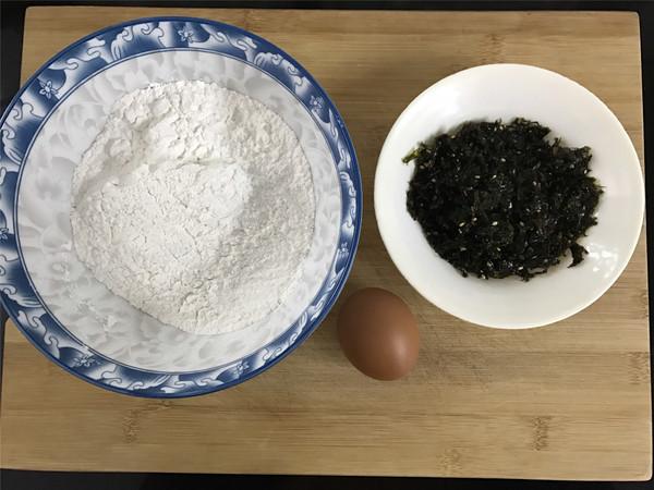 海苔糯米煎饼的做法大全