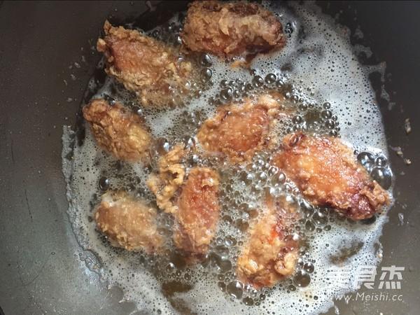 炸鸡翅怎么做