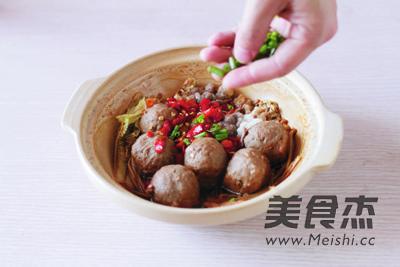 肥牛丸子蔬菜煲的家常做法