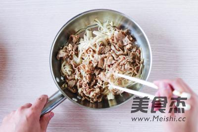 日式金针菇肥牛的家常做法