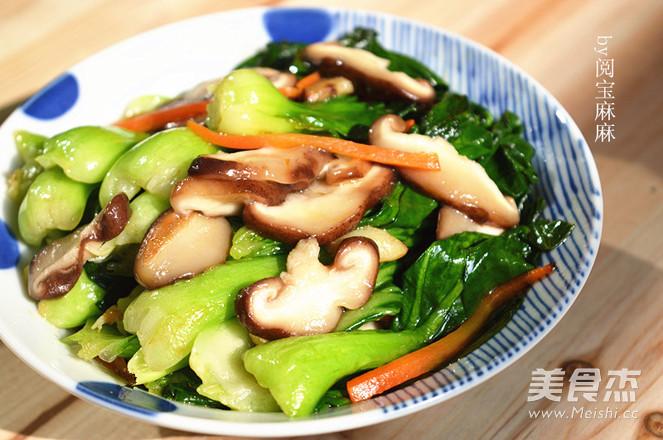 香菇青菜怎样炖