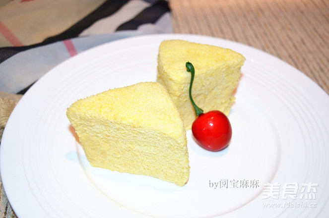 自制小米糕成品图