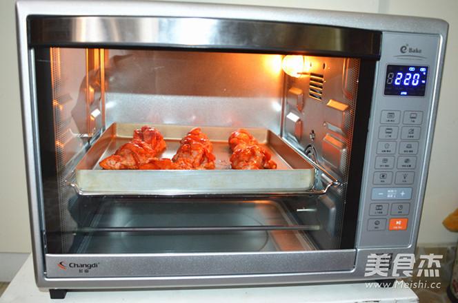 新奥尔良烤鸡腿怎么做