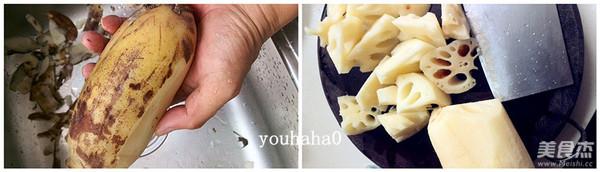 黄豆莲藕排骨汤的做法图解