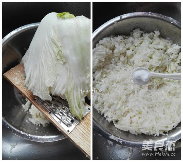 白菜猪肉水饺的做法图解