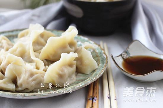 白菜猪肉水饺怎么炖
